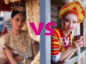 Искусство тайских женщин.