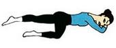 Упражнения Кегеля для женщин, исходное положение №2